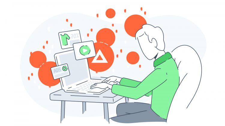 Person using Brave Browser by Uphold